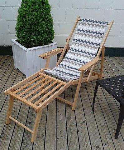 stabiler holz liegestuhl mit fu teil klappbar leicht. Black Bedroom Furniture Sets. Home Design Ideas