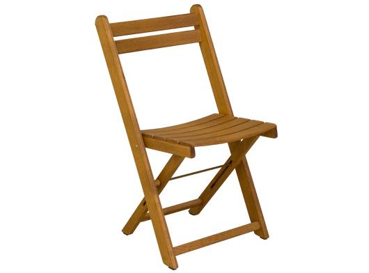 Gartenstühle holz stapelbar  Formschöner & stabiler Klappstuhl - Gartenstuhl stapelbar braun