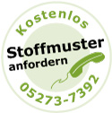 Polsterauflage Made in Germany / Stoffmuster bestellen