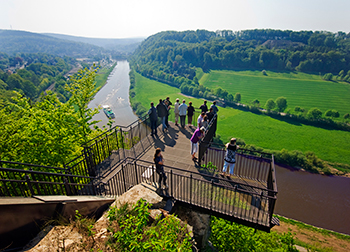 Weser Skywalk von Frank Grave